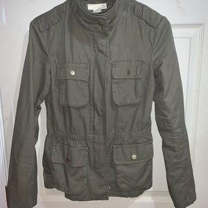 Green H&M Utility Jacket